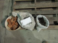 Pallet Miscellaneous, Aluminum Clips, Flat Pins & Rod Clamps, Located in Winterset, IA