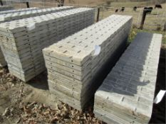 """(12) 20"""" x 8' Precise Concrete Forms, Textured Brick 8"""" Hole Pattern, Located in Winterset, IA"""
