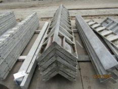 """(6) 12"""" x 12"""" x 8' OSC Wall-Ties Concrete Forms, Smooth 8"""" Hole Pattern, Located in Mt. Pleasant,"""