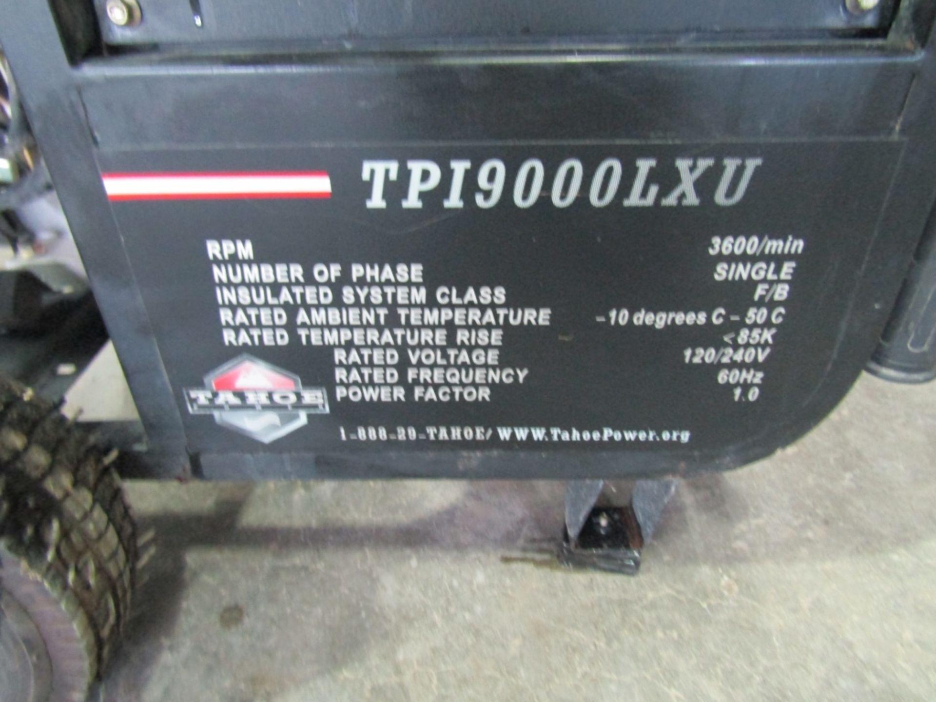 Lot 242 - TPI9000LXU Generator, Tahoe Power 9000 Watt Industrial Grade Gasoline Generator, Located in