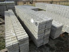 "(26) 8"" x 9' Jumps Precise Concrete Forms, Textured Brick 8"" Hole Pattern, Located in Winterset, IA"