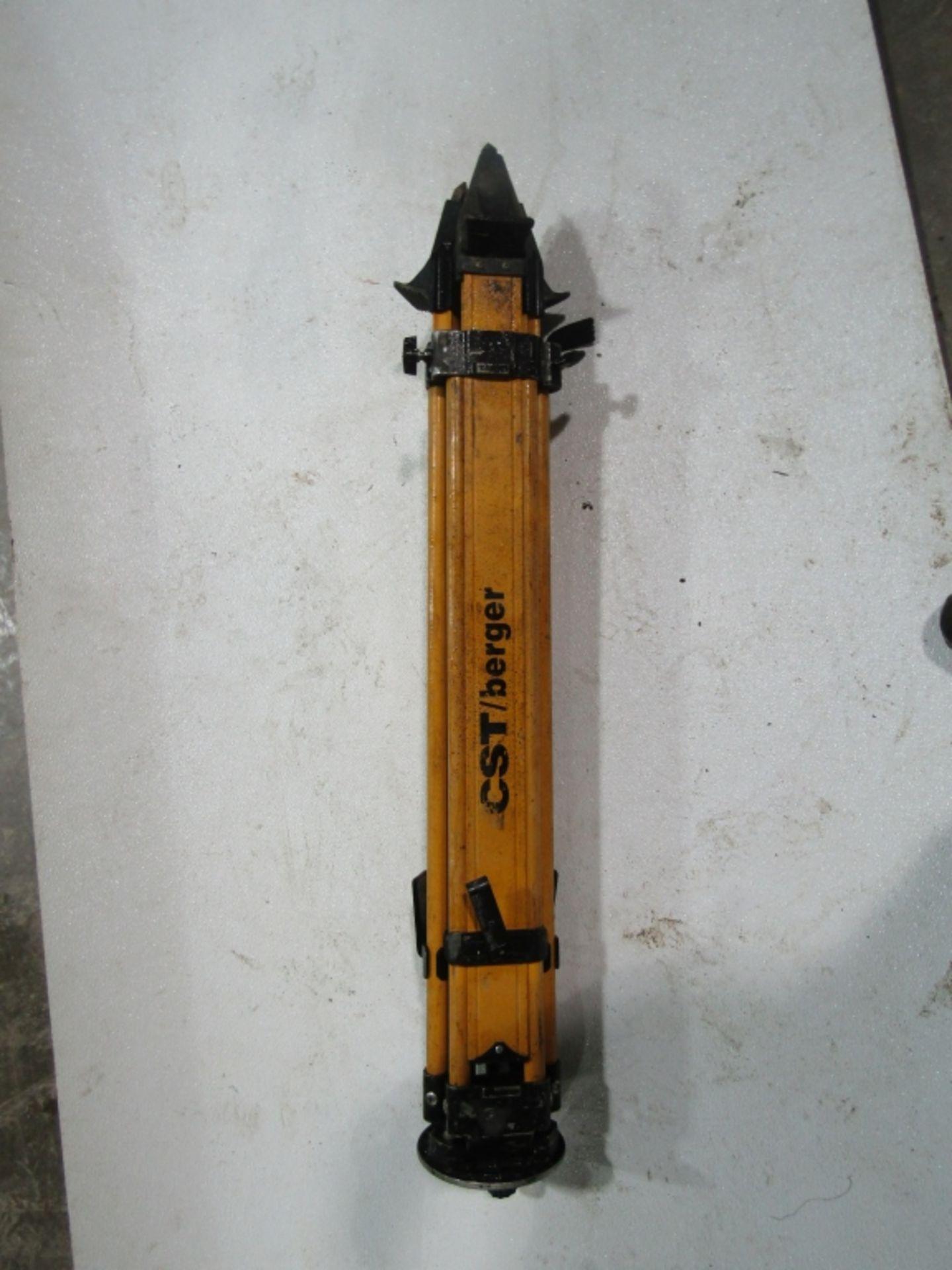 Lot 280 - CST/berger WDF20 Performance Laser Tripod Max, Model WDF20, Located in Winterset, IA