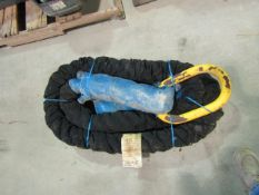 24' Tow Rope, Custom Rope T150 (150,000#), Located in Winterset, IA