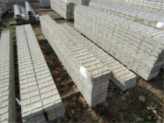 "(8) 9"" x 9' Precise Concrete Forms, Textured Brick 8"" Hole Pattern, Located in Winterset, IA"