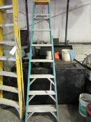 (1) Blue Step Ladder, Located in Winterset, IA