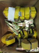 (16) New Ratchet Straps, Located in Winterset, IA