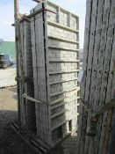 "(14) 36"" x 8' Precise Concrete Forms, Textured Brick 8"" Hole Pattern, Located in Winterset, IA"