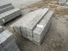 """(26) 7"""" x 4' Precise Concrete Forms, Textured Brick 8"""" Hole Pattern, Located in Winterset, IA"""