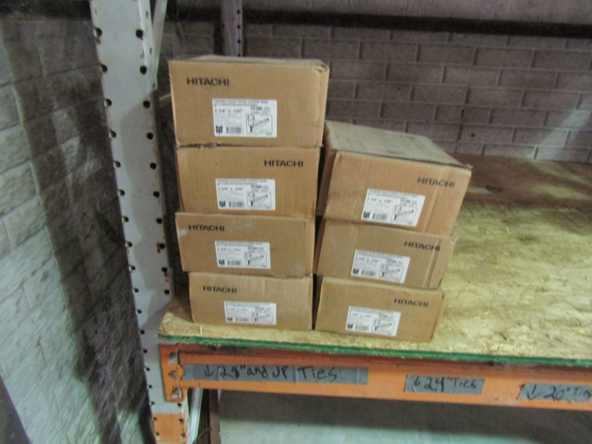"""Lot 229 - (7) New Boxes Hitachi Framing Nails, Paper Clipped Head2 3/8"""" x .120"""" Approximate 4800 Quantity"""
