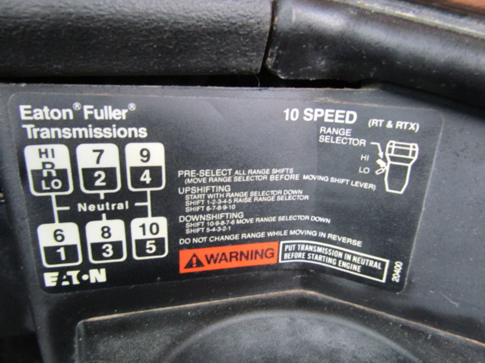 Lot 210 - 1994 Freightliner, VIN #1FUW3LYA0RH605546, 71,282 Miles, 10 Speed Eaton Fuller Manual