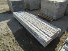 """(30) 4"""" x 8' NEW Precise Concrete Forms, Textured Brick 8"""" Hole Pattern, Located in Winterset, IA"""