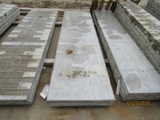 """(2) 26"""" x 8' Durand Concrete Forms, Smooth 8"""" Hole Pattern, Located in Mt. Pleasant, IA"""