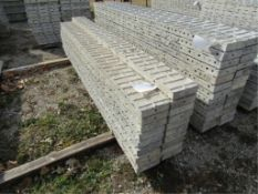"(19) 8"" x 9' Precise Concrete Forms, Textured Brick 8"" Hole Pattern, Located in Winterset, IA"