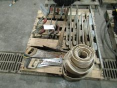 Pallet of Miscellaneous Hand Trowels, Axe, Saws, & Edging, Located in Winterset, IA