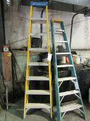 Yellow Louisville 8'/250# Step Ladder, Model FS2008, Located in Winterset, IA