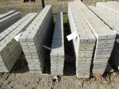 """(7) 8"""" x 8' Jumps Precise Concrete Forms, Textured Brick 8"""" Hole Pattern, Located in Winterset, IA"""