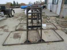 4' Concrete Forms Basket, Located in Winterset, IA