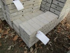"""(7) 8"""" x 2' Jumps Precise Concrete Forms, Textured Brick 8"""" Hole Pattern, Located in Winterset, IA"""