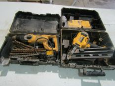 (1) DeWalt Drill & (1) DeWalt Nail Gun, Located in Winterset, IA