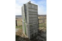 8' Basket with Bell, Basket-Only, (Basket from lot 47), Located in Winterset, IA