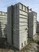 "(16) 36"" x 8' Precise Concrete Forms, Textured Brick 8"" Hole Pattern, Located in Winterset, IA"