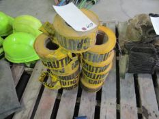 Pallet of Caution Tape, Located in Winterset, IA