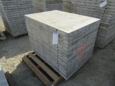 """(16) 36"""" x 4' Precise Concrete Forms, Smooth 8"""" Hole Pattern, Located in Winterset, IA"""
