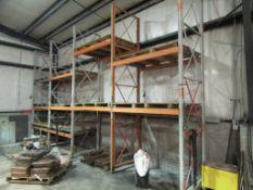 "(5) 45"" x 14' 6"" Wide & (20) 6' Cross Bar Pallet Racking, Located in Winterset, IA"