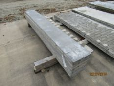 """(6) 12"""" x 8' Durand Concrete Forms, Smooth 8"""" Hole Pattern, Located in Mt. Pleasant, IA"""