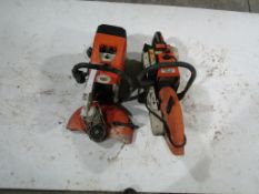 Parts only to 2 Stihl Concrete Saws, Located in Winterset, IA