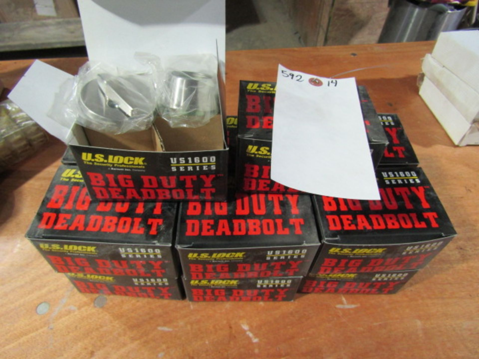 Lot 312 - (14) New Big Duty Deadbolt, Located in Winterset, IA