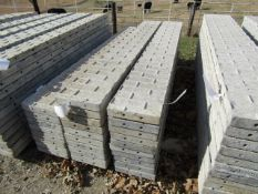 """(10) 12"""" x 8' Precise Concrete Forms, Textured Brick 8"""" Hole Pattern, Located in Winterset, IA"""