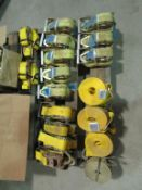 (21) New Ratchet Straps, Located in Winterset, IA