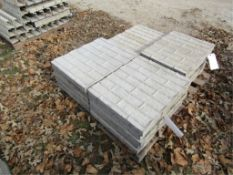 """(10) 20"""" x 2' Precise Concrete Forms, Textured Brick 8"""" Hole Pattern, Located in Winterset, IA"""