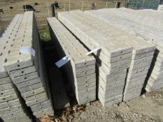 """(10) 9"""" x 8' Precise Concrete Forms, Textured Brick 8"""" Hole Pattern, Located in Winterset, IA"""