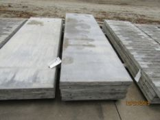 """(5) 28"""" x 8' Durand Concrete Forms, Smooth 8"""" Hole Pattern, Located in Mt. Pleasant, IA"""