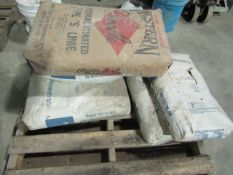 Pallet of Lime & C/S Granular, 50# Bags, Located in Winterset, IA