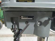 Rockwell Drill Press, Model #S55EYE3287, Rockwell #438-02-314-0626, HP 1/2, Volts 115, Located in