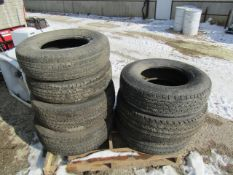 Pallet of Used Tires, Located in Winterset, IA