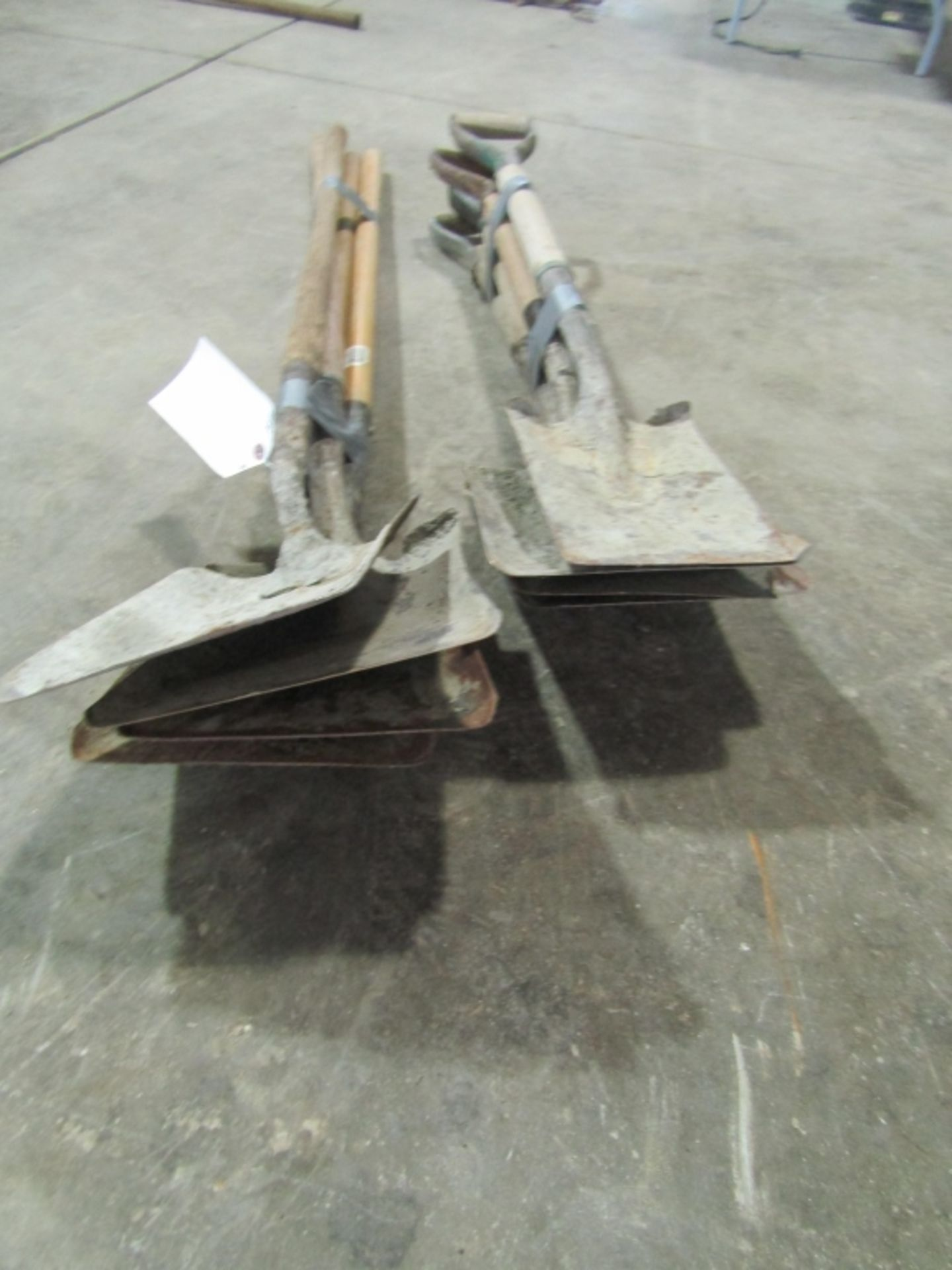 Lot 231 - (8) Square Point Shovel, Located in Winterset, IA