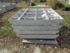 (5) Window Box Precise Concrete Forms, Located in Winterset, IA