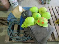 Pallet Safety Hats, Hose & Tarps, Located in Winterset, IA