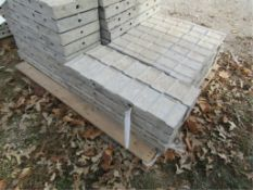 """(8) 5"""" x 2' Precise Concrete Forms, Textured Brick 8"""" Hole Pattern, Located in Winterset, IA"""