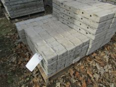 """(20) 4"""" x 2' Precise Concrete Forms, Textured Brick 8"""" Hole Pattern, Located in Winterset, IA"""