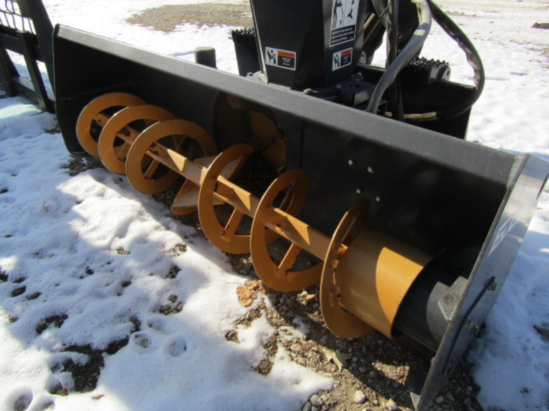 Lot 348 - Edge Attachments Snow blower, Model #50503588