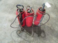 (3) Champion Sprayers, Located in Winterset, IA