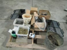 Pallet of Miscellaneous Fasteners, Located in Winterset, IA
