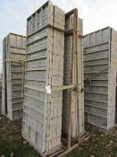 "(14) 36"" x 9' Precise Concrete Forms, Textured Brick 8"" Hole Pattern, Located in Winterset, IA"