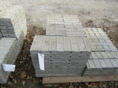 """(24) 10"""" x 2' Precise Concrete Forms, Textured Brick 8"""" Hole Pattern, Located in Winterset, IA"""