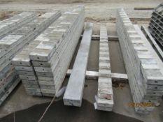 """(2) 7"""" x 8' Durand Concrete Forms, Smooth 6-12 Hole Pattern, Located in Mt. Pleasant, IA"""